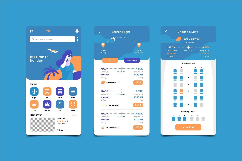 travel booking app